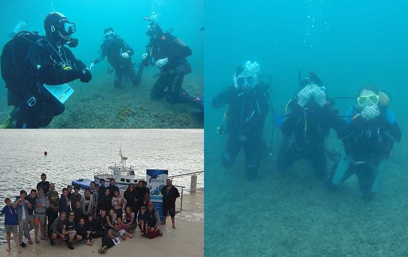 Lancing College Go Scuba Diving In Croatia