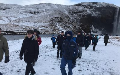 St Andrews High School trip to Iceland
